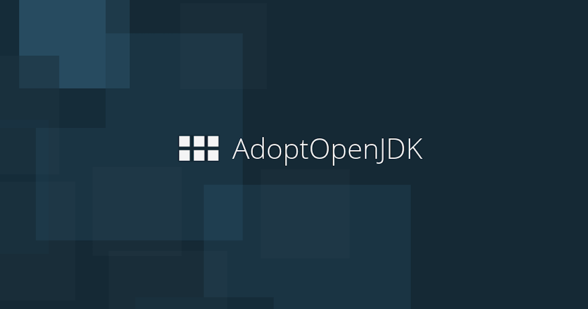 logo of the AdoptOpenJDK project